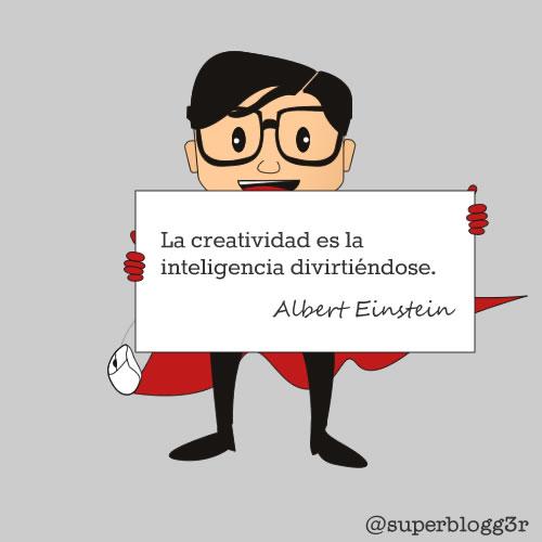 Frase de Einstein sobre la creatividad